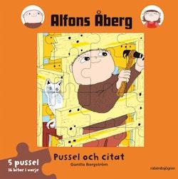 Alfons Åberg - pussel och citat