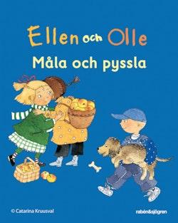 Ellen och Olle - minipyssel - Måla och pyssla