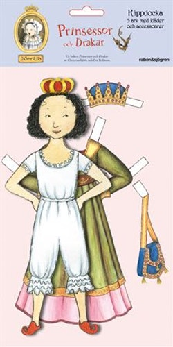 Klippdocka Sömntuta : Prinsessor och drakar
