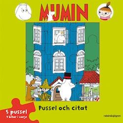 Mumin - Pussel och citat