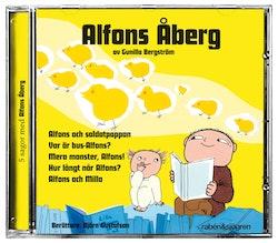 Alfons Åberg (gul) : 5 sagor med Alfons Åberg