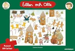 Ellen och Olle - Pussel : 100 bitar