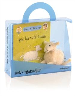 Bä, bä vita lamm - Presentförpackning : Bok + mjukisdjur