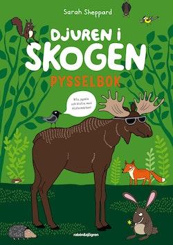 Djuren i skogen : pysselbok med klistermärken