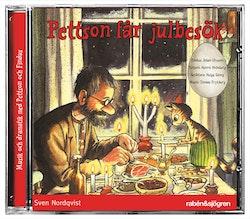 Pettson får julbesök : Uppläsning med dramatisering