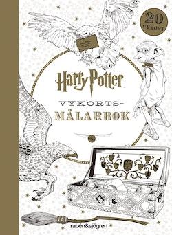 Harry Potter Vykorts-målarbok