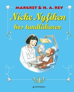 Nicke Nyfiken hos tandläkaren