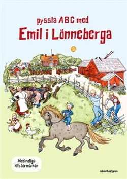 Pyssla ABC med Emil i Lönneberga