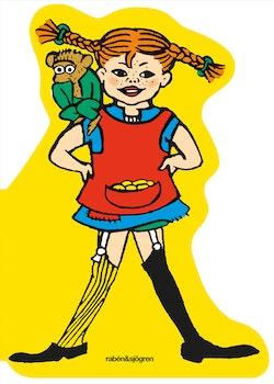 Pippi Långstrump. Figurskuren pekbok