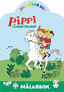Jag målar med Pippi Långstrump : Målarbok