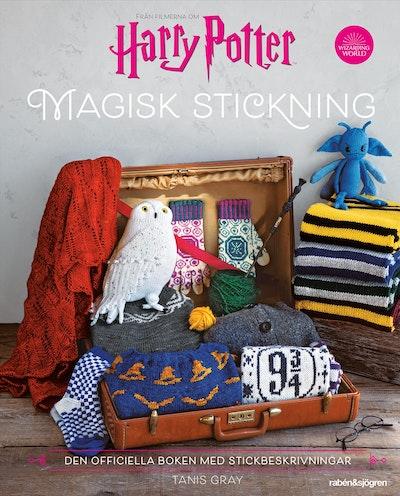 Harry Potter. Magisk stickning : Den officiella boken med Harry Potter-inspirerad stickning