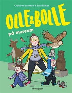 Olle och Bolle på museum