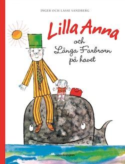 Lilla Anna och Långa Farbrorn på havet