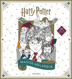 Harry Potter Magisk målarbok