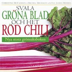 Svala gröna blad och het röd chili