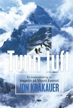 Tunn luft : en insidesskildring av tragedin på Mount Everest