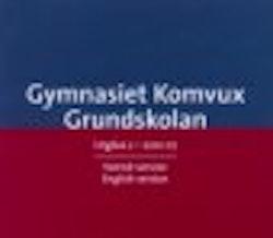 Kursplaner för grundskolan samt programmaterial för gymnasieskolan och komvux med versioner på både svenska och engelska. Cd