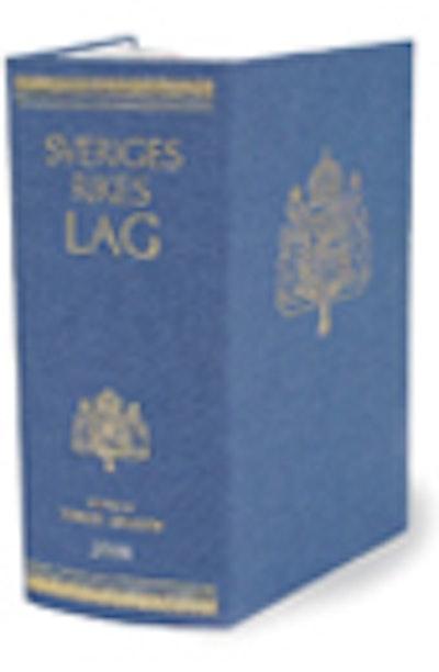 Sveriges Rikes Lag 2008 : Sveriges Rikes Lag gillad och antagen på Riksdagen år 1734, stadfäst av Konungen den 23 januari 1736. Med tillägg av författningar som kommit ut från trycket fram till början av januari 2008
