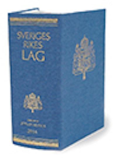 Sveriges Rikes Lag 2015 (klotband) : Sveriges Rikes Lag gillad och antagen på Riksdagen år 1734, stadfäst av Konungen den 23 januari 1736. Med tillägg av författningar som kommit ut från trycket fram till och med den 31 december 2014.