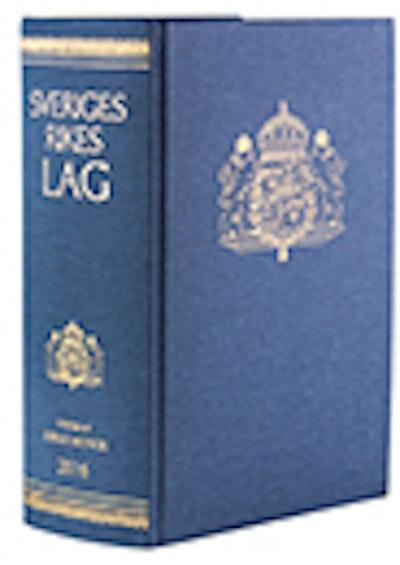 Sveriges Rikes Lag 2016 (klotband) : Sveriges Rikes Lag gillad och antagen på Riksdagen år 1734, stadfäst av Konungen den 23 januari 1736. Med tillägg av författningar som kommit ut från trycket fram till början av januari 2016.