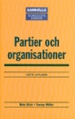 Partier och organisationer