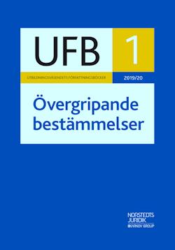 UFB 1 Övergripande bestämmelser 2019/20