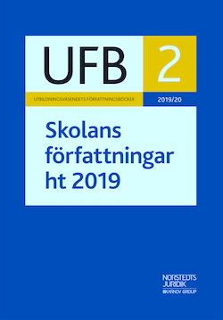UFB 2 ht Skolans författningar 2019/20
