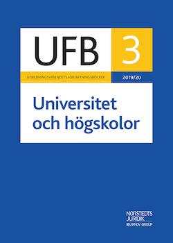UFB 3 Universitet och högskolor 2019/20