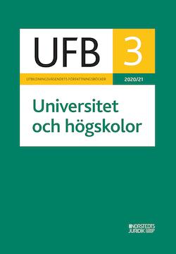 UFB 3 Universitet och högskolor 2020 / 21