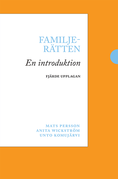 Familjerätten : en introduktion
