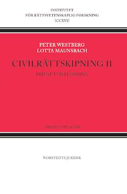 Civilrättskipning II. Privat tvistlösning