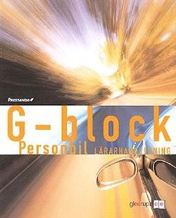 Prestanda G-block Personbil Lärarhandl