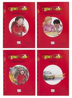 Bumerang småböcker Upplevelse läsnivå 8