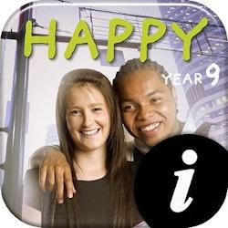 Happy 9 Text+Workbook digital elevlic 12 mån