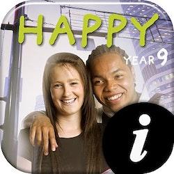 Happy 9 Text+Workbook digital lärarlic 12 mån