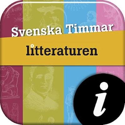 Svenska Timmar litteraturen, digital, elevlic. 12 mån