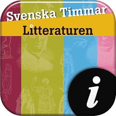 Svenska Timmar litteraturen, digital, lärarlic. 12 mån