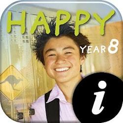 Happy Year 8 Text+Workbook digital elevlic 12 mån
