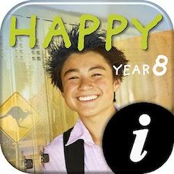 Happy Year 8 Text+Workbook digital lärarlic 12 mån