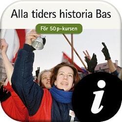 Alla tiders historia Bas 50 p, digital,  elevlic. 12 mån