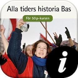 Alla tiders historia Bas 50 p, digital,  lärarlic. 12 mån