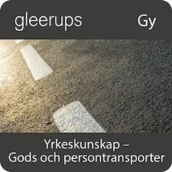 Yrkeskunskap Gods- o persontrans, digital, lärarlic, 18 mån