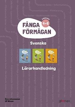 Fånga förmågan svenska Lärarhandl 4-6 + 8 planscher