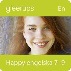 Happy engelska 7-9, digital, elevlic, 12 mån