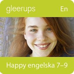 Happy engelska 7-9, digital, lärarlic, 12 mån