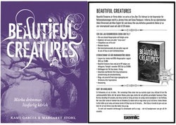 Beautiful Creatures/A4 skylt