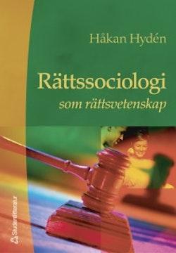 Rättssociologi som rättsvetenskap