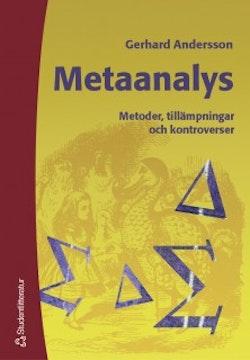 Metaanalys - Metoder, tillämpningar och kontroverser
