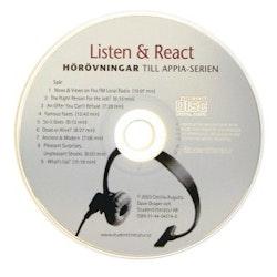 Listen & React Audio-cd (5-pack) - Engelska 5