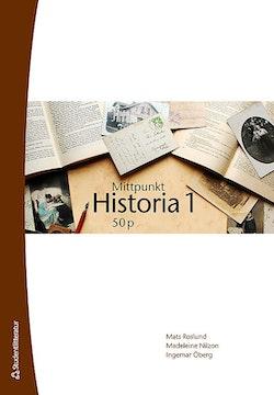 Mittpunkt Historia 1 50 p Elevpaket (Bok + digital produkt)